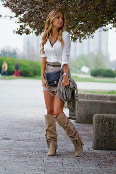 Fabulosos vestidos y faldas casuales para el día a día | Viste la moda 2014