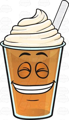 Guilty Grin Frappe With Closed Eyes Emoji #beverage #brown #cafe #caffeine #coffee #coffeebean #coffeeshop #colddrink #cream #drink #emoji #emoticon #eyesclosed #fullsetteeth #grin #grinning #guiltsmile #guilty #happy #icecold #java #pearlywhites #refreshment #smile #smiley #smilies #smiling #straw #swirl #teethshowing #twirl #whippedcream #vector #clipart #stock
