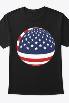 The perfect shirt for supporting USA Football, Table Tennis, Billiards, Soccer, Bowling, Cricket, or any sport with a ball Funny Mems, Bowling, Cricket, Funny Tshirts, Tennis, Soccer, Football, Sport, Usa