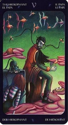 The Hierophant - Tarot of the Sweet Twilight