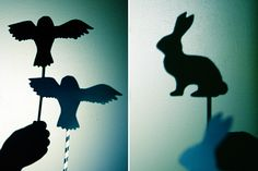 DIY Bedtime Story Shadow Puppets by Handmade Charlotte