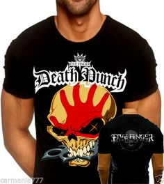 NEW-2015-T-SHIRT-FIVE-FINGER-DEATH-PUNCH-THE-WAY-OF-THE-FIST-ALBUM-COVER