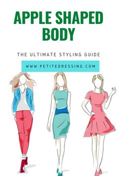 Apple Shaped Body: How to Dress if you are Petite Apple Body Type, Apple Body Shapes, Best Swimsuits, Women Swimsuits, Apple Body Shape Outfits, Swimsuit For Body Type, Apple Dress, Petite Body, Ethnic Print