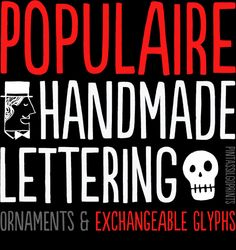 TOP 10 FONTS OF 2012 by HypeForType , via Behance