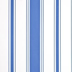 Cambridge Stripe Wallpaper Blue And Cream Combination Stripe Wallpaper.
