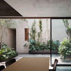 Garden inspiration, doors, patio, small garden, stylish natural ecclectic
