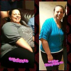 WOW look what Skinny Fiber has done for her :) - Changing Lives One Pound At A Time