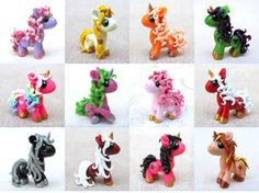 Custom Ponies by *DragonsAndBeasties on deviantART