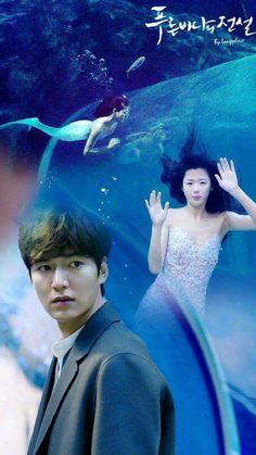 legend of blue sea Legend Of The Blue Sea Poster, Legend Of The Blue Sea Kdrama, Legend Of The Seas, Legend Of Blue Sea, Lee Min Ho Legend Of The Blue Sea Wallpaper, K Drama, Drama Fever, Korean Drama Movies, Korean Actors