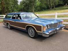 1973 Ford LTD Country Squire, factory original 429 4v/C6 Auto & 3rd row seats...