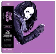 The soundtrack for Marvel's Jessica Jones - Season One, the Netflix original series, with collectible artwork by Matthew Woodson.