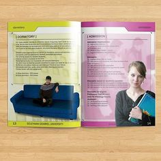 My first ever brochure design was for @sdukz in 2007.  #brochure #design #sdu #press #university #univer #printdesign #print #colorful #brochures #yellow #pink #best @ramiz13 #dormitory #sofa #book #admission #admissions #discounts