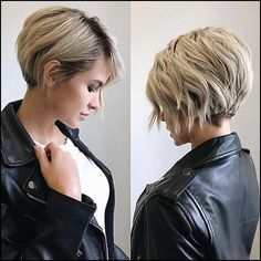 40 Latest Trendy Short Haircuts 2019 Styles Art Short Hair 40 Cute Short Haircuts For Women 2019 Short Hairstyles For Many 25 Cute Short Hairstyles For Women 20 Latest Short Haircuts, Short Hairstyles For Thick Hair, Curly Hair Styles, Short Hair For Girls, Thick Short Hair, Women Short Hairstyles, Short Hair Tips, Short Hair Cuts For Women With Thick, Pixies For Thick Hair