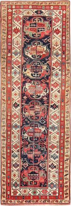Antique Tribal Kurdish Runner Rug 47570 by Nazmiyal - By Nazmiyal  http://nazmiyalantiquerugs.com/antique-rugs/antique-product-type/antique-tribal-kurdish-runner-rug-47570/
