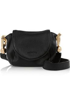 See by Chloé Lena small textured-leather shoulder bag | NET-A-PORTER