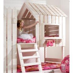 Muebles Europe Baby. Casita cama de madera. Mamidecora