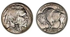 How much is your Buffalo or Indian Head nickel worth? You can see for yourself how much your coin is worth on this coin value chart. Coin Value Chart, Saving Coins, Coin Jar, Money Notes, Coin Store, Valuable Coins, American Coins, Penny Coin, Coin Worth
