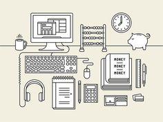 CreativeMornings by Tim Boelaars — Agent Pekka Graph Design, Icon Design, Pattern Design, Design Design, Heart Illustration, Creative Illustration, Painting Inspiration, Design Inspiration, Creative Company