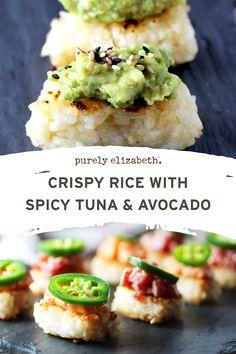 Sushi Recipes, Veggie Recipes, Asian Recipes, Vegetarian Recipes, Cooking Recipes, Healthy Recipes, Seafood Dishes, Seafood Recipes, Healthy Snacks