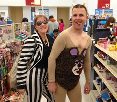 Robin Thicke and Miley Cyrus Twerkin Halloween Costume - Funny Pictures at Walmart