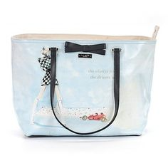 Pre-owned Kate Spade New York Tote: Light Blue Women's Bags