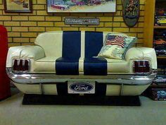 Ford Mustang Couch One Of The Best Car Sofas I Ve Ever Seen