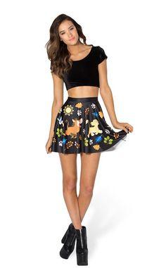 hakuna-matata-skater-skirt