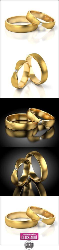 Anillos De Boda Oro amarillo 750_S-737_D  ✿ Joyas para hombres especiales - lujo ✿ ▬► Ver oferta: https://comprar.io/goto/B01DS97MNM