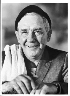 "Burgess Meredith in ""Rocky""  (1907-1997)"