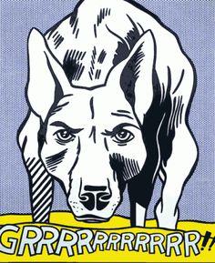 Roy Lichtenstein - Grrrrrrrrrrr ! - 1965