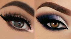 Colorful Glitter Smokey Eye Makeup Tutorial #8