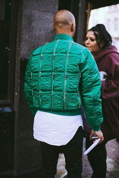 Green, street style inspo