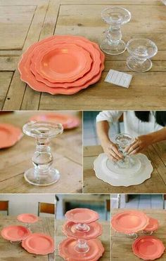 DIY Serving Dishes