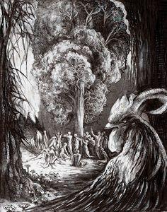 Slavic Mythology - Kur