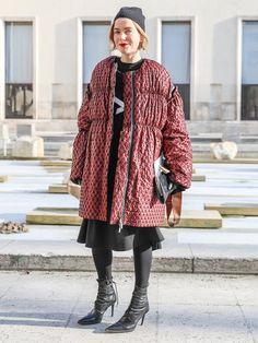 【ELLE】真冬の相棒、ダウンジャケットはデザイン勝負!|エル・オンライン