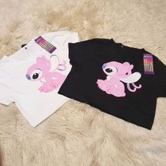 Disney Outfits, Retro Outfits, Cute Outfits, Bff, Lelo And Stitch, Stitch And Angel, Cute Stitch, Cute Sleepwear, Best Friends Forever