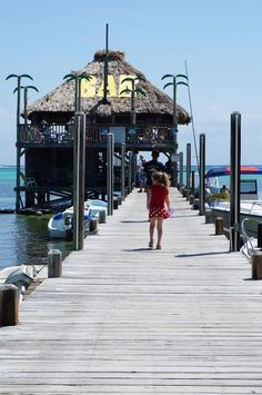 Who wouldn't love a bar at the end of a jettY? You only need this one list for your enjoyable San Pedro, Belize getaway. That's right I compiled a delicious and tantalizing list for your drooling, wishing and hopefully tasting pleasure. Enjoy! #Belize #Island #food