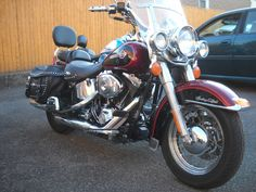 Harley-Davidson : Softail 2002 HARLEY DAVIDSON FLSTCI HERITAGE SOFTAIL 1 OWNER 2 TONE FACTORY PAINT LOADED