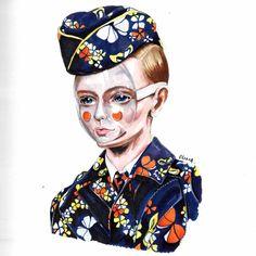 Olivia Au Fashion Illustration