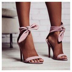 new concept 992c7 fd596 Tie Up Heels, Grey Strappy Heels, High Heels Sandals, Cute Shoes Heels,