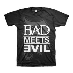 eminem shirts | Home > Music > Apparel > Men's T-Shirts > Eminem Bad Meets Evil Square ...