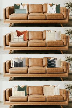 The Ultimate Guide For Choosing Pillow Color Combos For A Brown Couch And How To Mix & Match