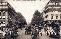 Quand Paris comptaient 80 000 chevaux chaque matin ! - attelage-patrimoine Album Photo, Big Ben, Vintage Photos, Paris Skyline, Street View, France, History, Travel, Image