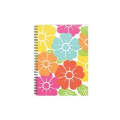 Retro tropical print spiral notebook. 238245301051697757