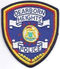 DEARBORN HEIGHTS MICHIGAN POLICE PATCH