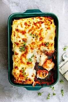cannelloni with roasted pumpkin & gorgonzola - Cooking - Delicious Asparagus Tart, Asparagus Recipe, Veggie Recipes, Gourmet Recipes, Healthy Recipes, Delicious Magazine, Italian Recipes, Food Print, Lasagna