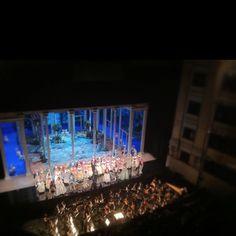 Grande Mutti @Teatro_Real en Il Due Figaro
