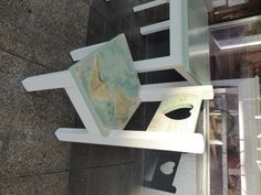 Refurbished Pine Furniture Using Vintage Maps And Non