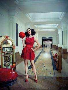 Eva Green - Campari Calendar August