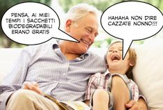 Da Baby George a Bernarda Renzi: sui sacchetti bio scoppia l'ironia del web - Foto - Giornale di Sicilia